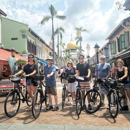 Historical Singapore Bicycle Tour by Let's Go